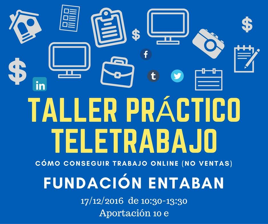 TALLER DE TELETRABAJO